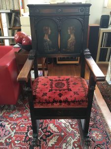 This antique victorian chair is still for sale on our Ebay store.