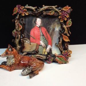 Jay Strongwater Acrylic & Swarovski Crystal Frame