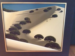Eyvind Earle Painting